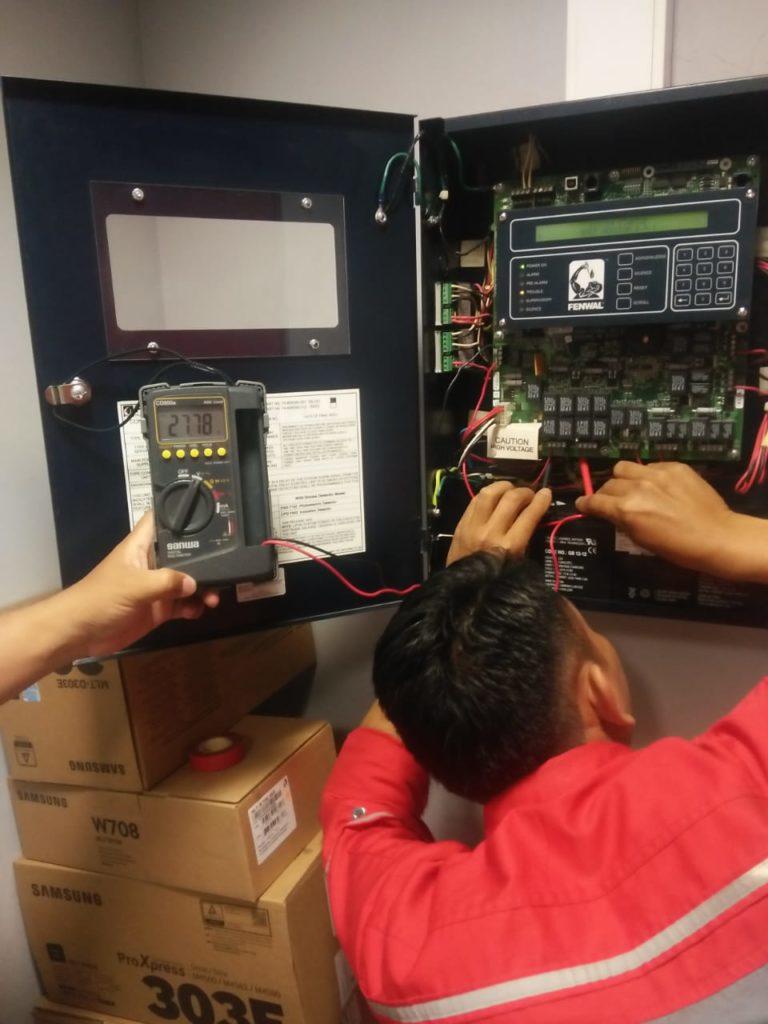 Maintenance Service FM200 Suppression System